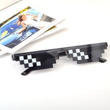 New Glasses Sunglasses Men Women Brand Thug Life Party Eyeglasses Mosaic Vintage Eyewear
