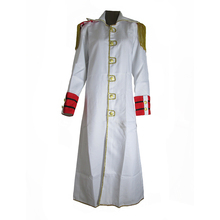 Brdwn One Piece Unisex Marine Soldier White Cosplay Cloak Anime Costumes