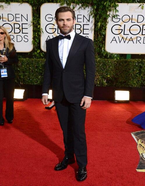 Klassische Mode 73rd Golden Globe Chris Kiefer Kleidung Nach Maß ...
