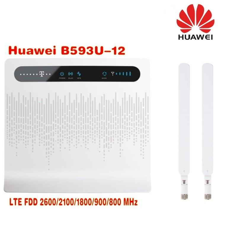 Здесь продается  huawei B593 B593u-12 LTE TDD FDD CPE 4g router with external antenna 2pcs  Компьютер & сеть