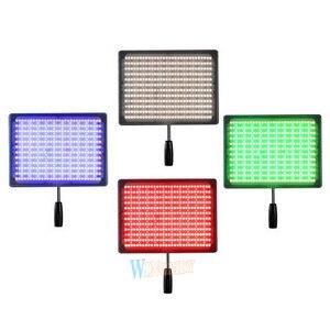 Image 2 - YONGNUO YN600 RGB światło LED do kamery YN 600RGB LED fotografia regulacja światła Bicolor 3200 K 5500 K możliwość przyciemniania bezprzewodowy pilot Bluetooth