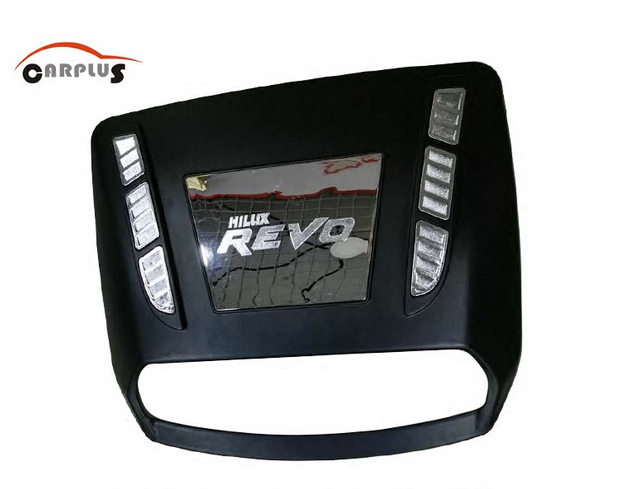 High quality Car accessories for HILUX REVO refires decoration cover bonnet refit tuyere ...