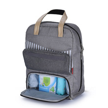 Fashion Mummy Maternity Nappy Bag Large Capacity Baby Stroller Diaper Bag Travel Backpack Designer Nursing Bag for Baby Care цены