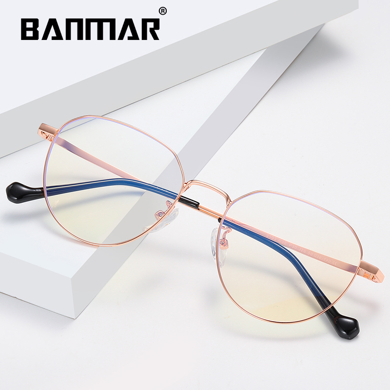 BANMAR Anti Blue Rays Computer Glasses Women Blue Light Coating Gaming Glasses Men Unisex Harmful light Blocking Eyewear A2103 in Women 39 s Blue Light Blocking Glasses from Apparel Accessories