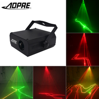 Laser Stage Lighting Mini Laser Projector Lighting Effect with Voice Automatic Control for Disco laser Clubs KTV DJ Lights L200R