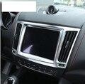 Для Maserati Levante 2016 автомобильный Стайлинг ABS хром внутренняя навигационная коробка рамка Крышка отделка Аксессуары новейший 1 шт