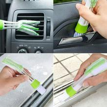 11Pcs Wooden Handle limpieza coche Automotive car cleaning Air Conditioner Outlet Cleaning Brushes Cleaner