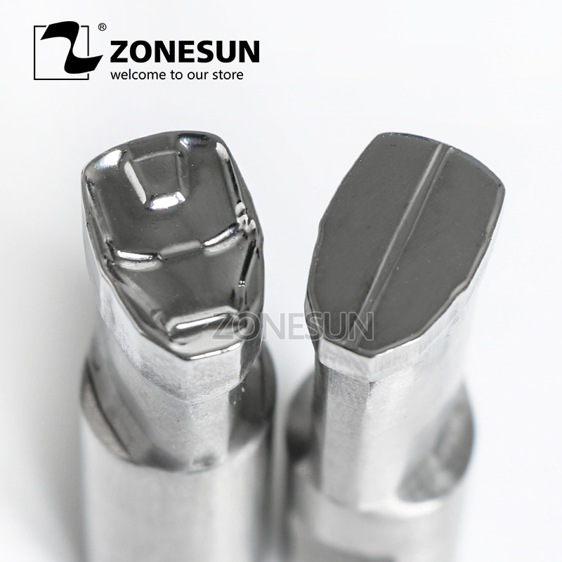 ZONESUN IM logo punching die mold sugar tablet Punching Set Stamp tablet die for candy press equipment TDP 0/1.5/3 any kind punching die press brake tooling mold