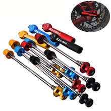 MTB Bike freehub Wheels Locking Anti Theft Skewers Cycling Ultralight Security Quick Release Bicycle Parts