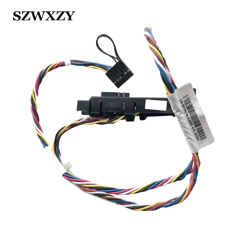 Original For Dell XPS 8200 8300 8700 Switch Cable Power Button Indicator F7M7N 0F7M7N CN 0F7M7N