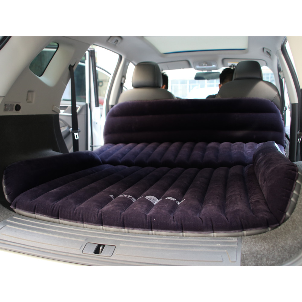 Camping Mat Nice Flocking Cloth Car Back Seat Cover Air Mattress Travel Bed Inflatable Mattress Air Bed Inflatable Bed Travel Kit Camping Mat Long Performance Life Camping & Hiking