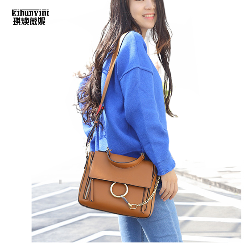 Luxury Shoulder Bag Women Top Handle Handbag Famous Designer High Quality Crossbody Bag 2017 CC Female Purse Bolsas Ladies Bags cool walker mini chain bag handbags women famous brand luxury handbag women bag designer crossbody bag for women purse bolsas
