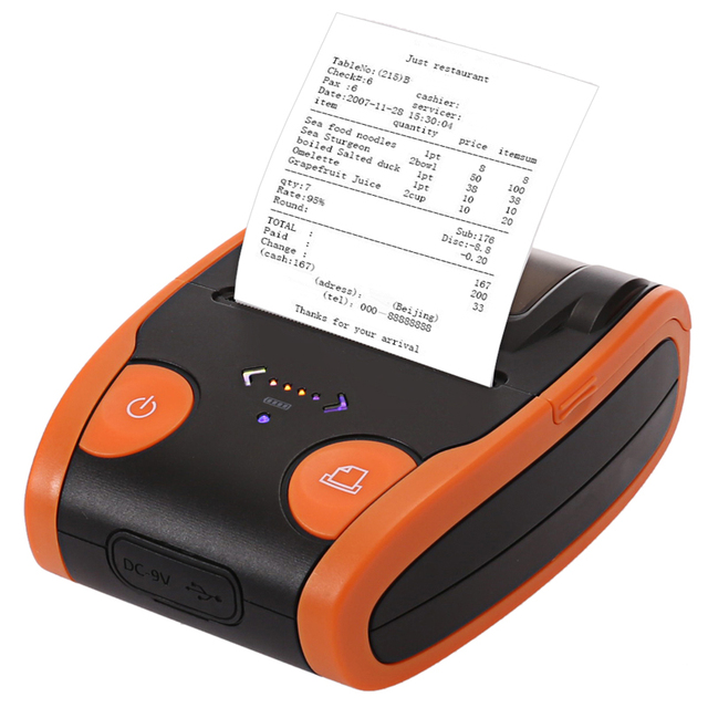 Free SDK Wireless Android Cheap Bluetooth Thermal Printer For Bus