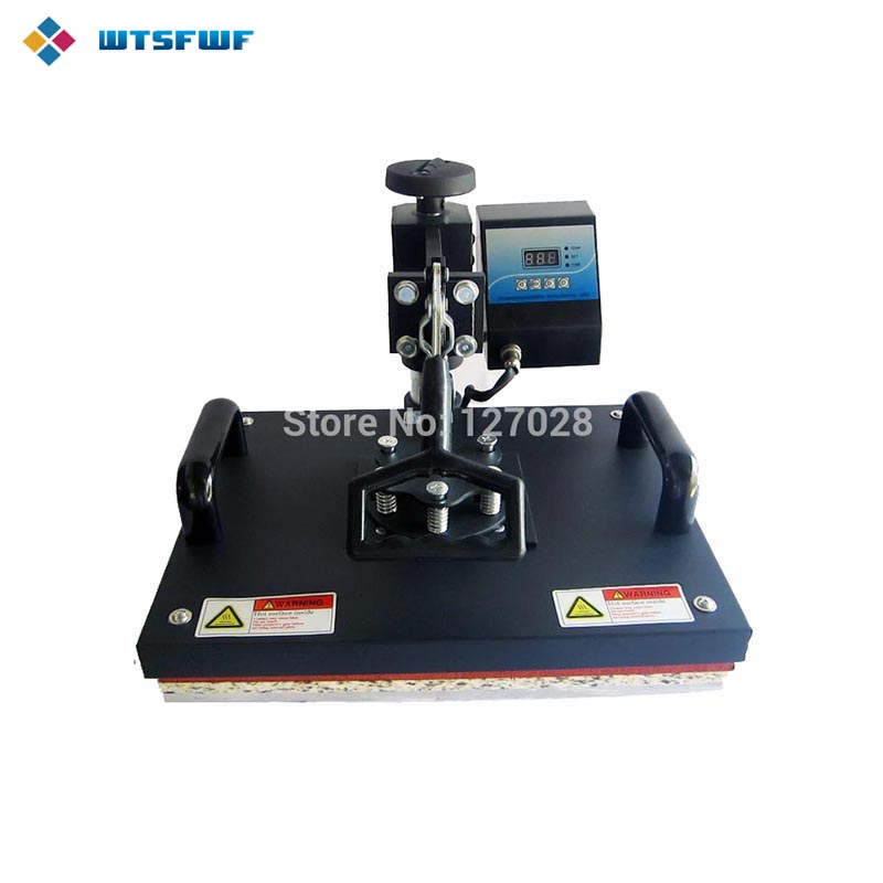 Wtsfwf 30 * 38CM Swaying Away Heat Press Printer Shkundës Head Head Transfer Heat Printer For Rastet Tshirts Mouse Mat