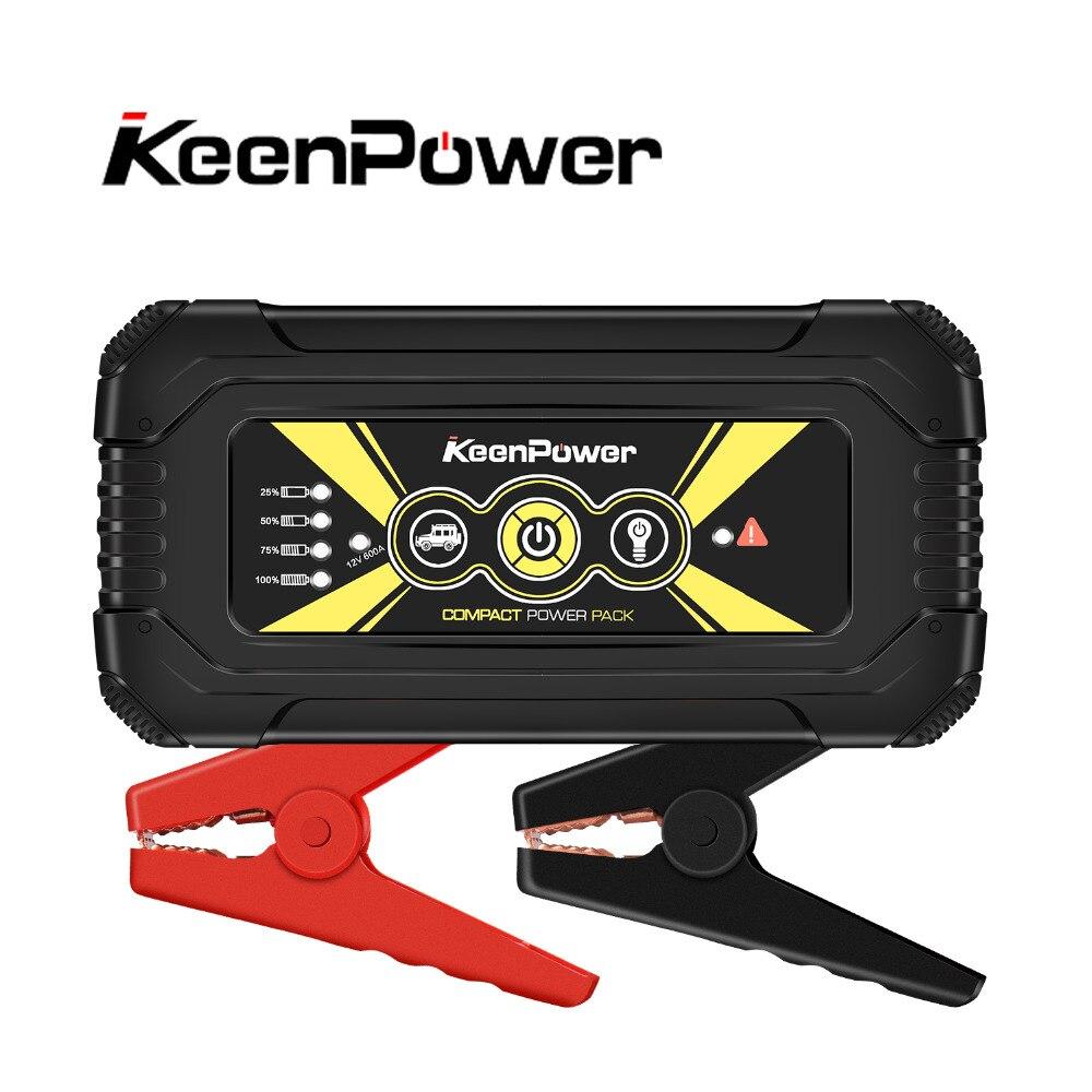 Portable Voiture Jump Starter Powerbank 12 v 600A/900A multifonctionnel Voiture Puissance Batterie Booster Buster de Départ Sécurité Saut Démarreur