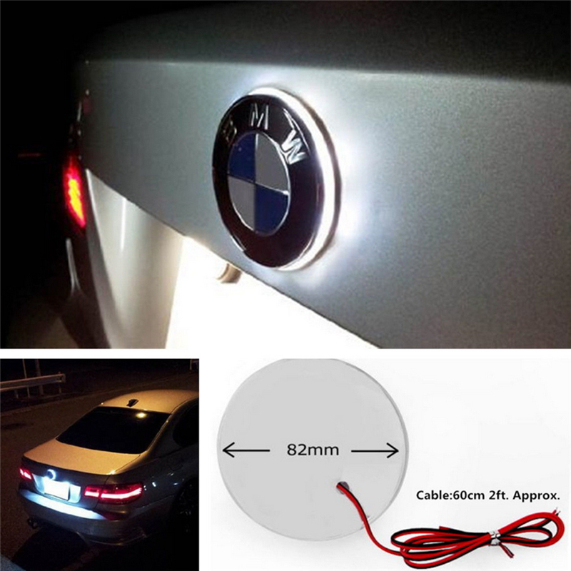 Auto Replacement Parts Punisher Skull Led Light Replaces Oem Car Hood Badge Rear Trunk Emblem 82mm For Bmw 1 3 5 7 Series X1 X5 Gt525 Gt535 51148132375 Always Buy Good Automobiles & Motorcycles