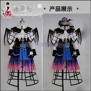 Image 2 - חדש אנימה אהבה לחיות שמש Aqours Yoshiko צושימה ליל כל הקדושים שמלות Cosplay תלבושות מלא קובע