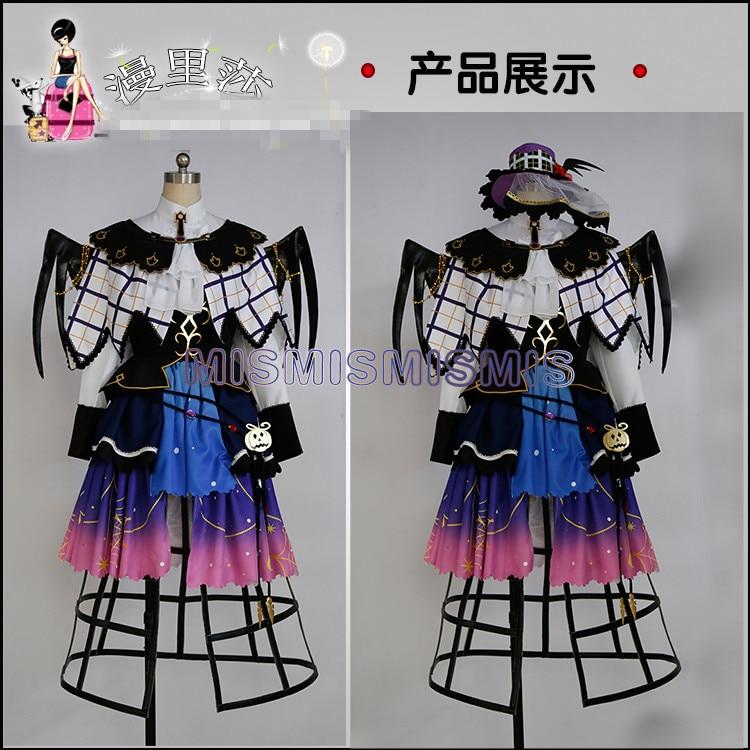 Image 2 - New Anime Love Live Sunshine Aqours Yoshiko Tsushima Halloween Dresses Cosplay Costume Full Sets AAnime Costumes   -