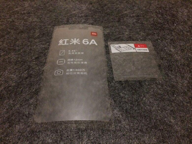 100pcs-lot-factory-front-screen-protector-film-for-xiaomi-redmi-6-6a-new-phone-film-refurbishment