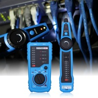 RJ11 RJ45 Cat5 Cat6 Telephone Wire Tracker Tracer Toner Ethernet LAN Network Cable Tester Detector Line Finder