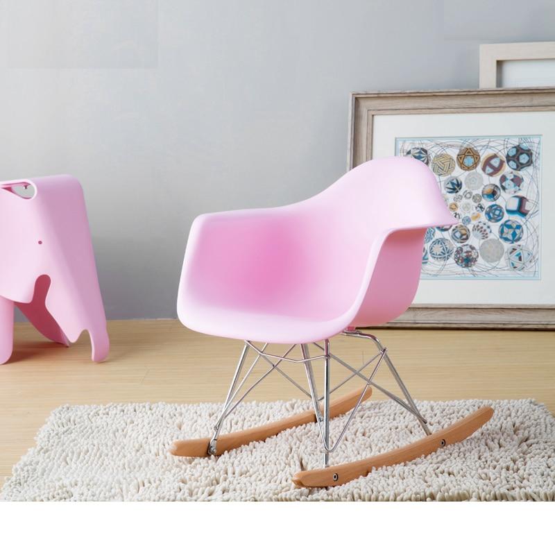 FREE SHIPPING Multi color optional Leisure living room furniture.Plastic fashion living room  Balcony rocking kid chair.