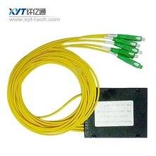 Venta caliente 0.9mm 1 m conector fc sola fibra módulo 4 canales cwdm mux cwdm y demux coarse wavelength división multiplexor