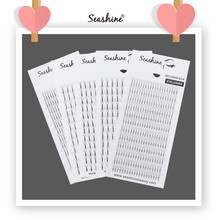 Seashine Volume Lashes Long Stem Premade Fans 1 Tray 12 Rows Mink Eyelashes Extension Supplies 2D-6D