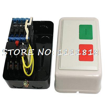 AC 220V 2.1-3A 8HP Three Phase Magnetic Starter Motor Start Stop Control