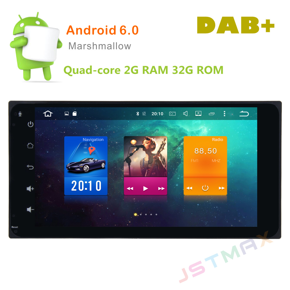 7 Android 6 0 Octa Core 2G RAM Car Raido font b GPS b font Player