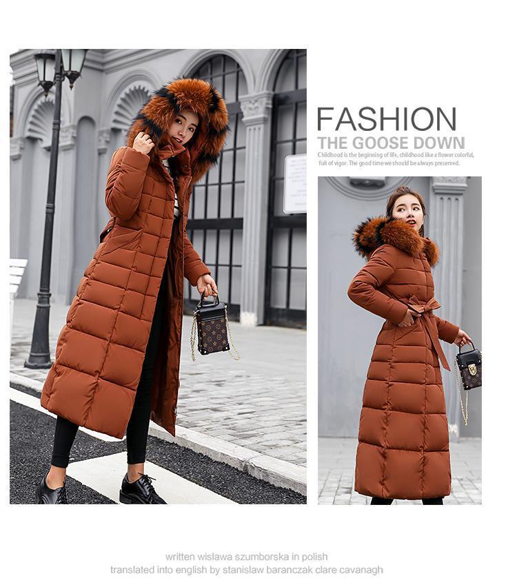 discount Fur Overcoat Long 14