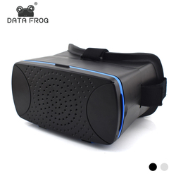 Data Frog VR Headset 3D Glasses For Xiaomi Smartphone VR Box Virtual Reality Glasses Google Cardboard Glassess