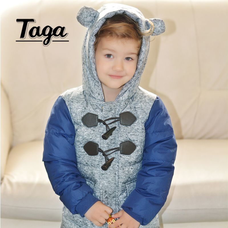 LAVLA 2017 boys Girls outerwear white duck down coat winter Hooded baby Jacket Kids Coat children's clothing Thick Down & Parkas boys thick down jacket 2018 new winter new children raccoon fur warm coat clothing boys hooded down outerwear 20 30degree