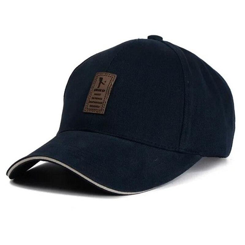 Prix pour 1 Pcs 2017 Unisexe Marque De Mode Baseball Cap Snapback Simple Solide Coton Chapeaux Pour Hommes Et Femmes 8 Couleurs
