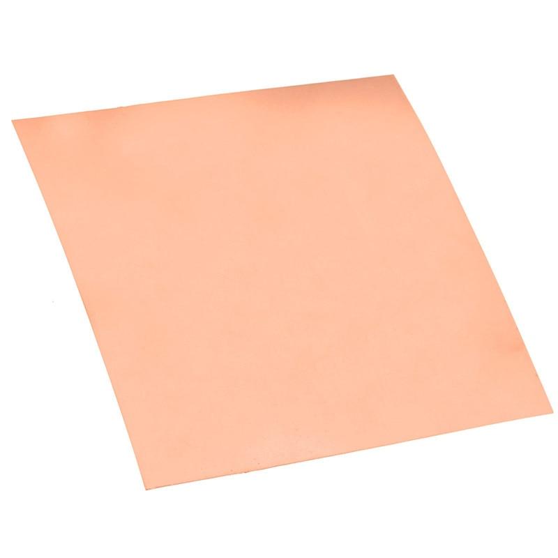 99.9% Pure Copper Cu Metal She et Plate 0.2mm*100mm*100mm go od at Welding and Brazing Best Price madona cu pruncul cu
