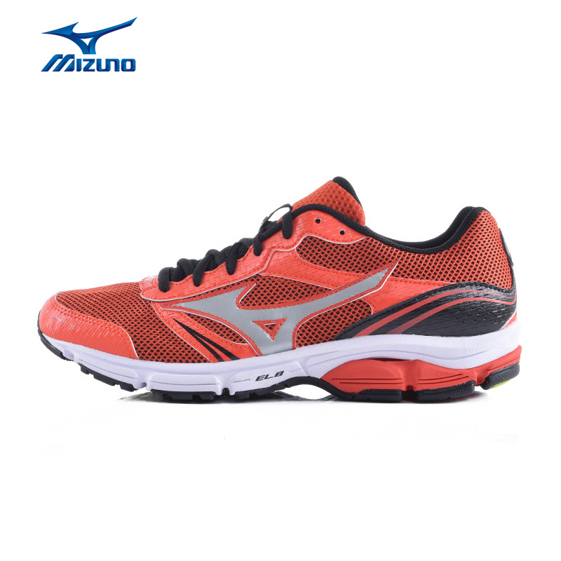 MIZUNO Men WAVE IMPETUS 3 Mesh Breathable Light Weight Cushioning Jogging Running Shoes Sneakers Sport Shoes  J1GR151306 XYP338 point break children weight running shoes men breathable mesh jogging shoes tide travel shoes
