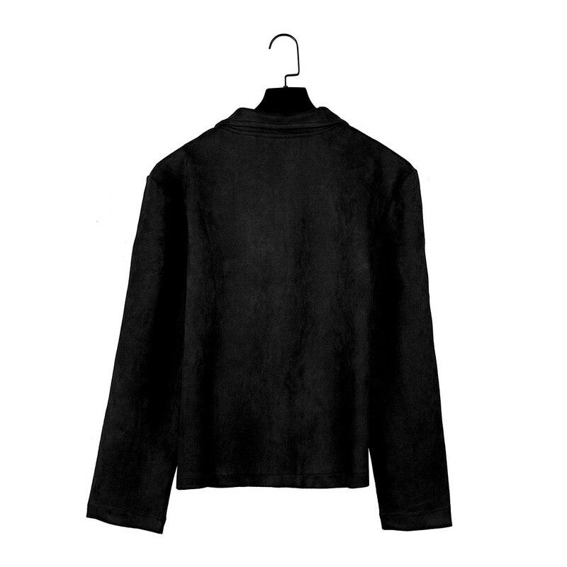 HTB1yeaTavb2gK0jSZK9q6yEgFXaa MJARTORIA 2019 New Fashion Men's Suede Leather Jacket Slim Fit Biker Motorcycle Jacket Coat Zipper Outwear Homme Streetwear