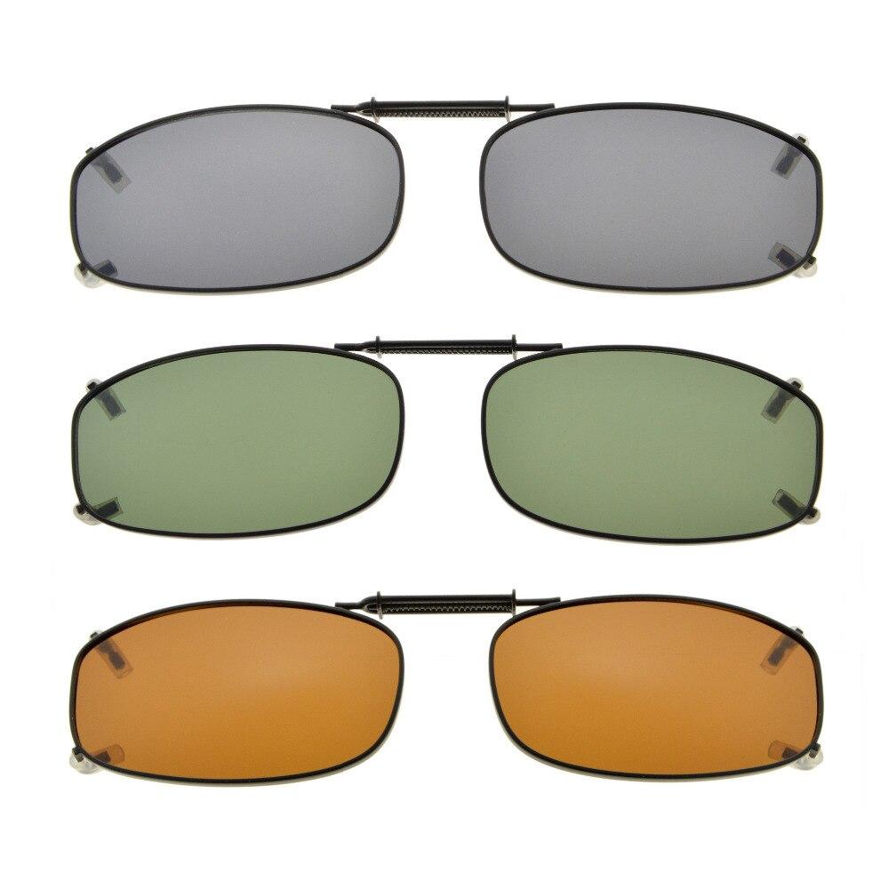 e3d96c9d55 C77 eyekepper gris/marrón/G15 lente 3-pack polarizadas Clip-on Gafas de sol  48x27mm - a.williamcho.me