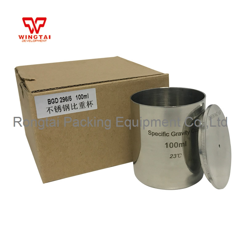 High Quality Stainless Steel Density Cup 100ml Capacity BGD296/5 Specific Gravity Cup 100ml mini 5