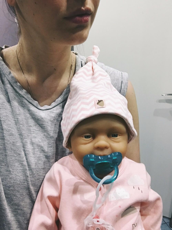 Ivita 21inch/4.9kg Girl High Quality Silicone Reborn Dolls Baby Born Full Body Alive Bath Doll XMAS Gift 15