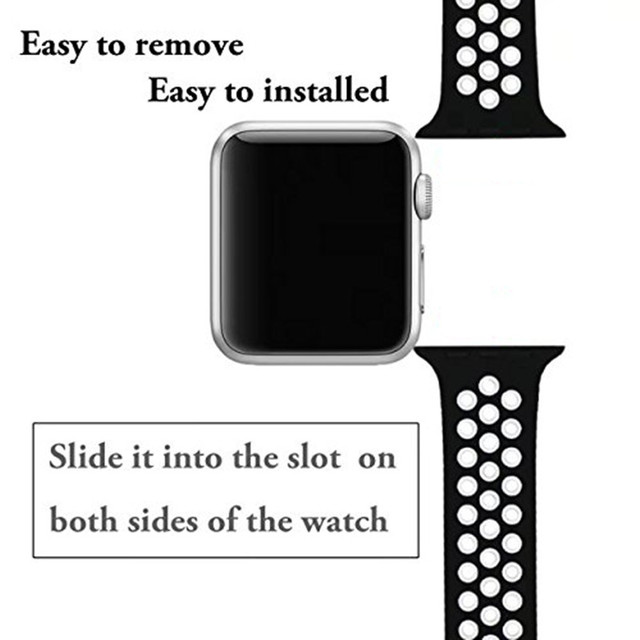 Sport Silicone Bracelet Band Strap