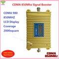 Display LCD!!! CDMA 850 Mhz CDMA 980 Reforço De Sinal Do Telefone Móvel, Telefone celular CDMA Repetidor De Sinal Amplificador Com Adaptador de Energia