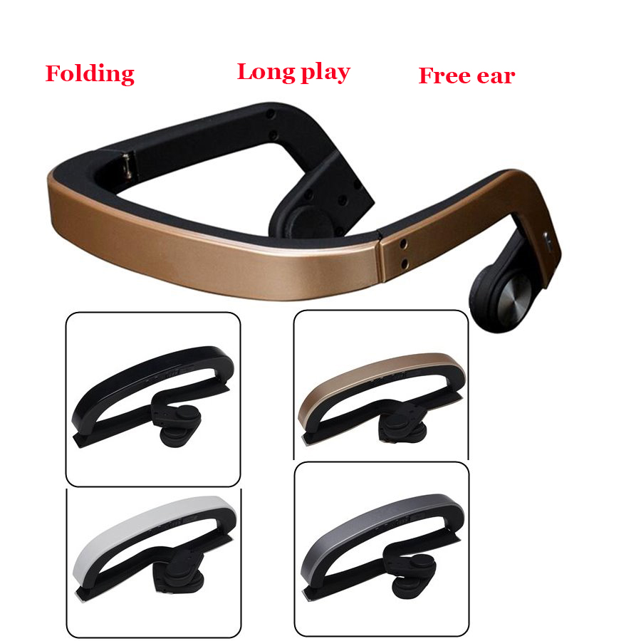 Bone Conduction Earphones Bluetooth Earphone Wireless Headset Stereo Sport Headphone Handsfree For Smart Phone new stereo headset bluetooth earphone headphone mini v4 0 wireless bluetooth handsfree universal for smart phone iphone samsung