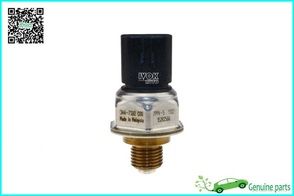 ФОТО Genuine Pressure Sensor For CAT C00 344-7392 7PP4-5 3447392 Sensor Gp-Pressure