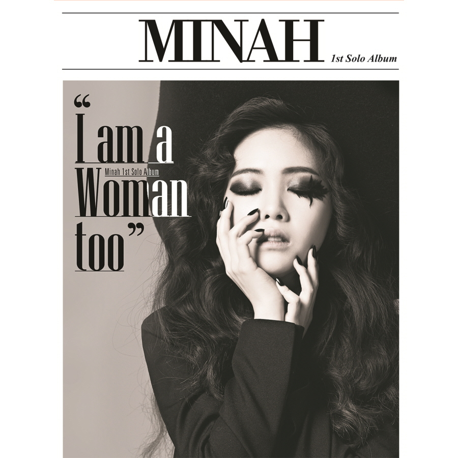 MINAH (GIRLS DAY) FIRST MINI ALBUM - I AM A WOMAN TOO + 1 Photocard KPOP minah girls day first mini album i am a woman too 1 photocard kpop