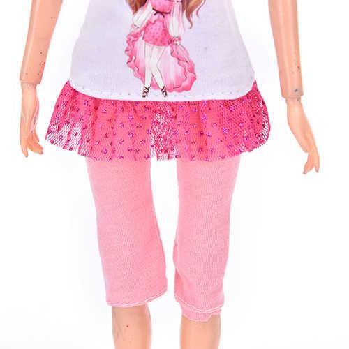 1Pc のためのファッショナブルなカジュアルスーツ人形子供のおもちゃ服ベビーおもちゃの人形のアクセサリー最高のギフト