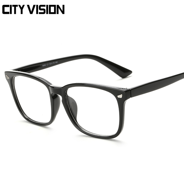 ecdefbd564 2018 New Fashion Square Eyeglasses Frame Spectacles women Brand Designer  female Eye Glasses Men glasses Male