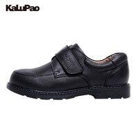Boys Shoes Black School Uniform Shoe Soft Sole 100 Quality Leather Shoes