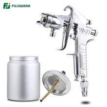 FUJIWARA W71C пневматический распылитель лак пистолет 1,5 мм сопла высокой распыления большой ёмкость Классическая Тип краски 400 мл/600 мл