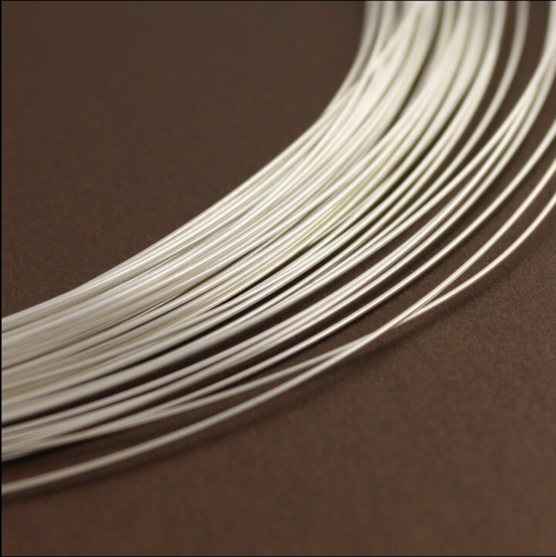 0.25mm 5meters 999 sterling silver wire fine silver pure round wire ...