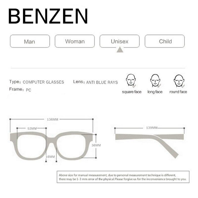 BENZEN Anti Blue Rays Окуляри для читання - Аксесуари для одягу - фото 5